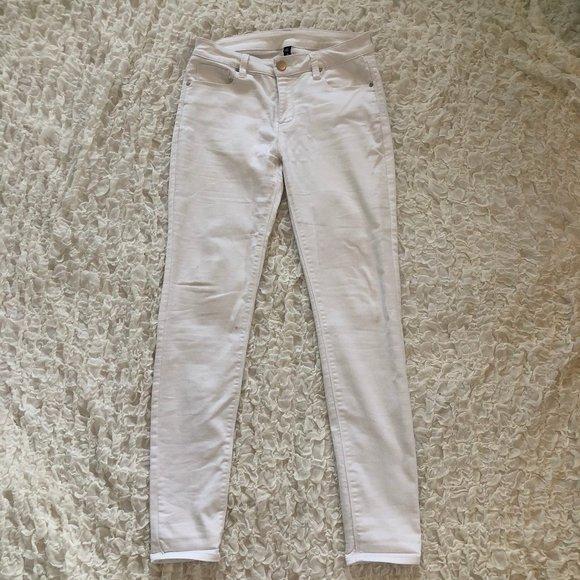Design Lab Lord & Taylor Denim - Lord & Taylor Design Lab White Jeans